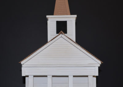 Washington Church, scale model