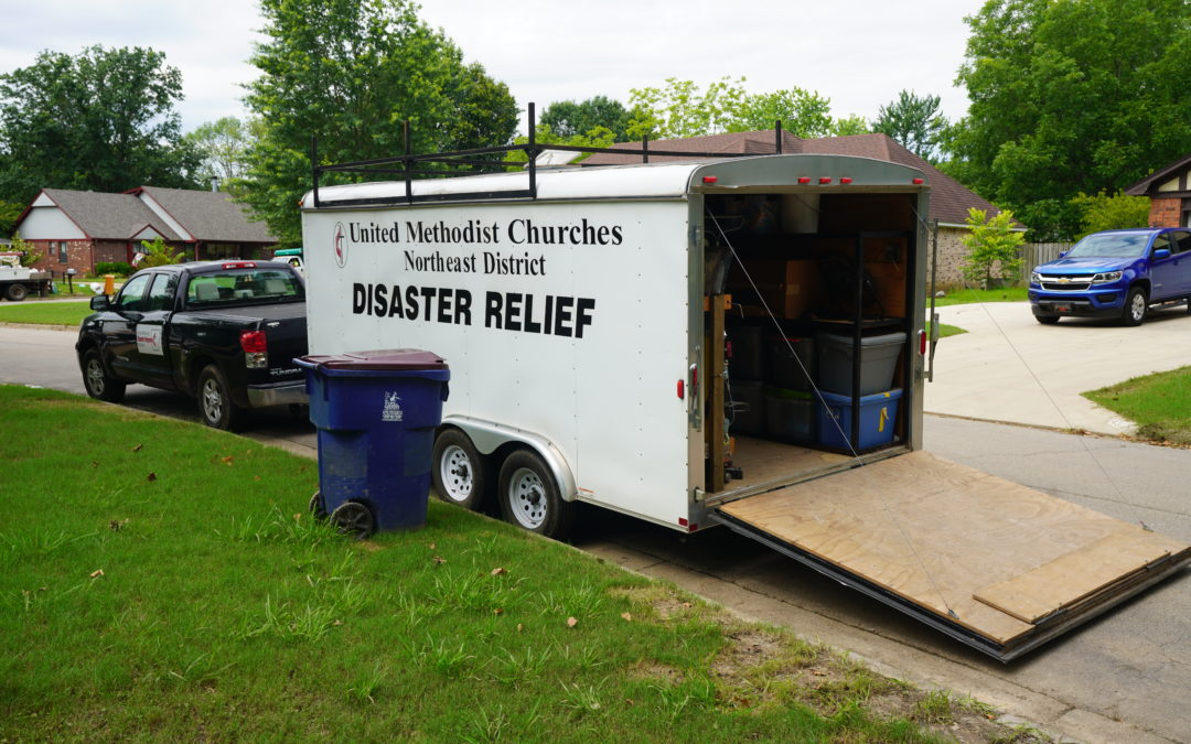 Arkansas Conference Disaster Response, AR VOAD give updated numbers on Arkansas River Flood response