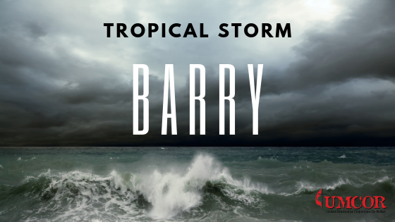 Tropical Storm Barry Update