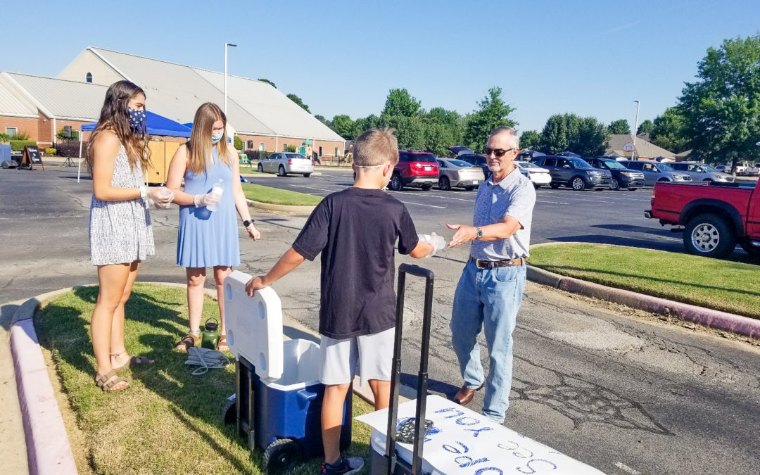 Parking Lot Service Brings Conway Community TogetherGrace UMC holds weekly worship service in outside the church walls