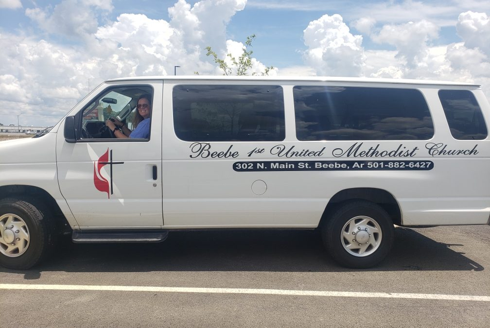 Let Your Neighbors Know You're Here by Adding Your Logo to Your Church Vehicle
