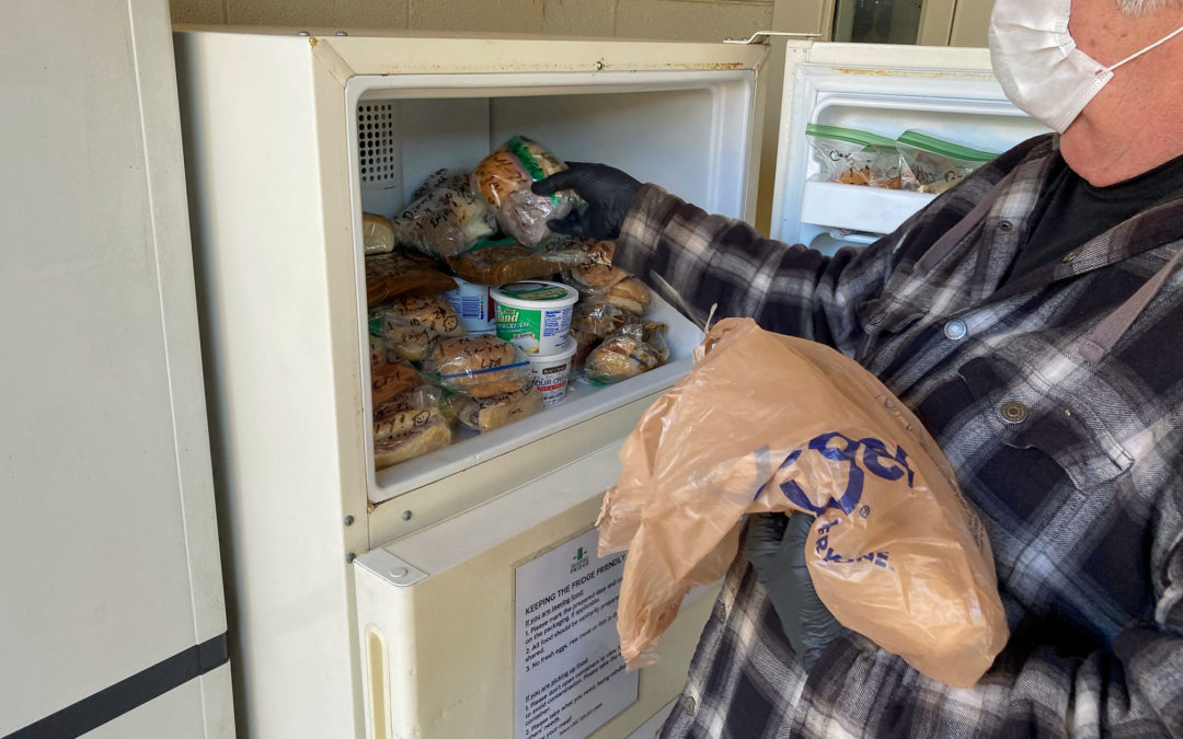 Salem UMC's Sharing Fridge Provides 24/7 Food Access to Hungry Community