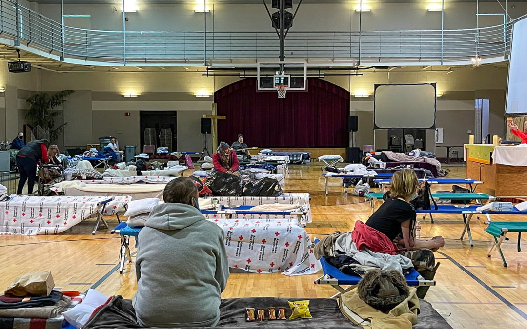 Hot Springs First Opens Gym for People Seeking Shelter from Cold