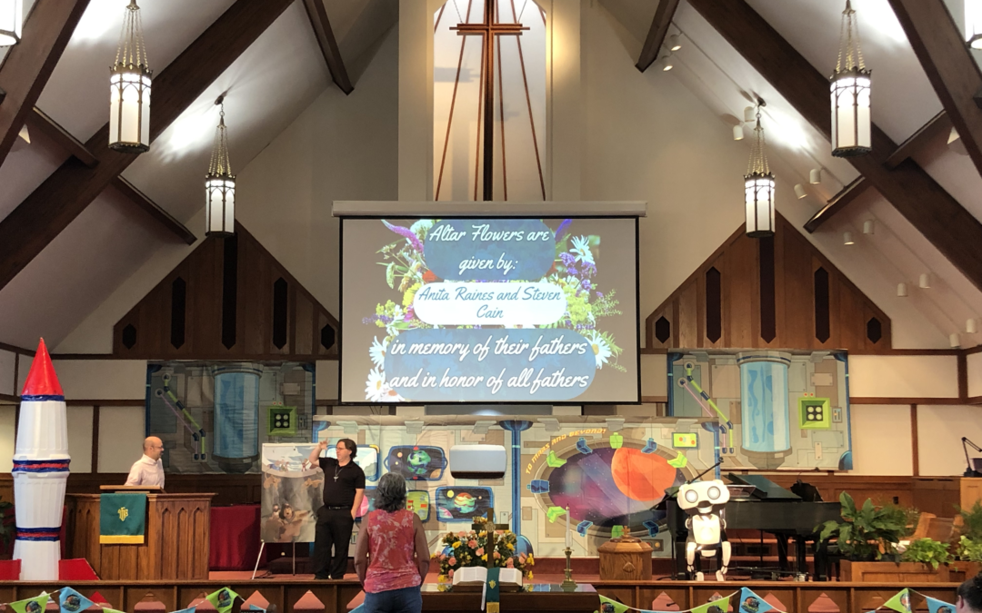Jacksonville First Turns Sunday Morning Worship Into A Churchwide Vacation Bible SchoolIntergenerational worship is the goal of this year's VBS