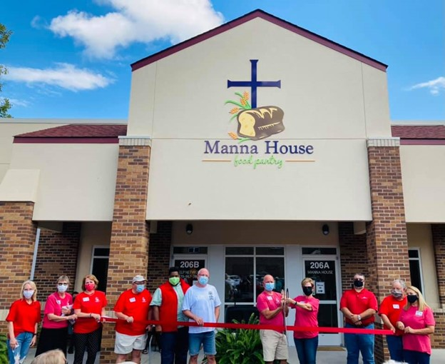 Russellville First UMC's Manna House Dedication and Open House